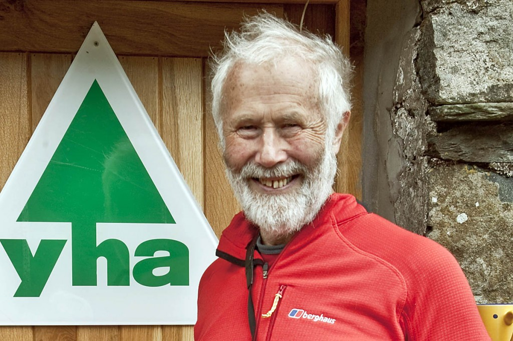 Sir Chris Bonington: 'passionate about the youth hostel'