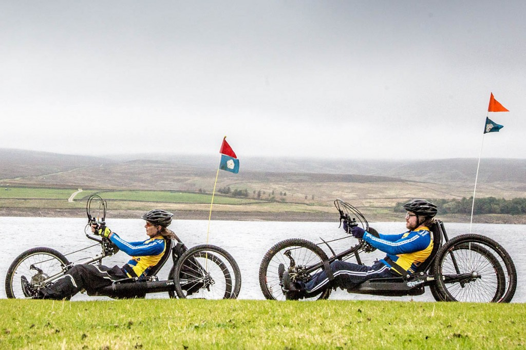 The path around the reservoir has been improved to make it wheelchair- and trike-friendly. Photo: Yorkshire Dales NPA