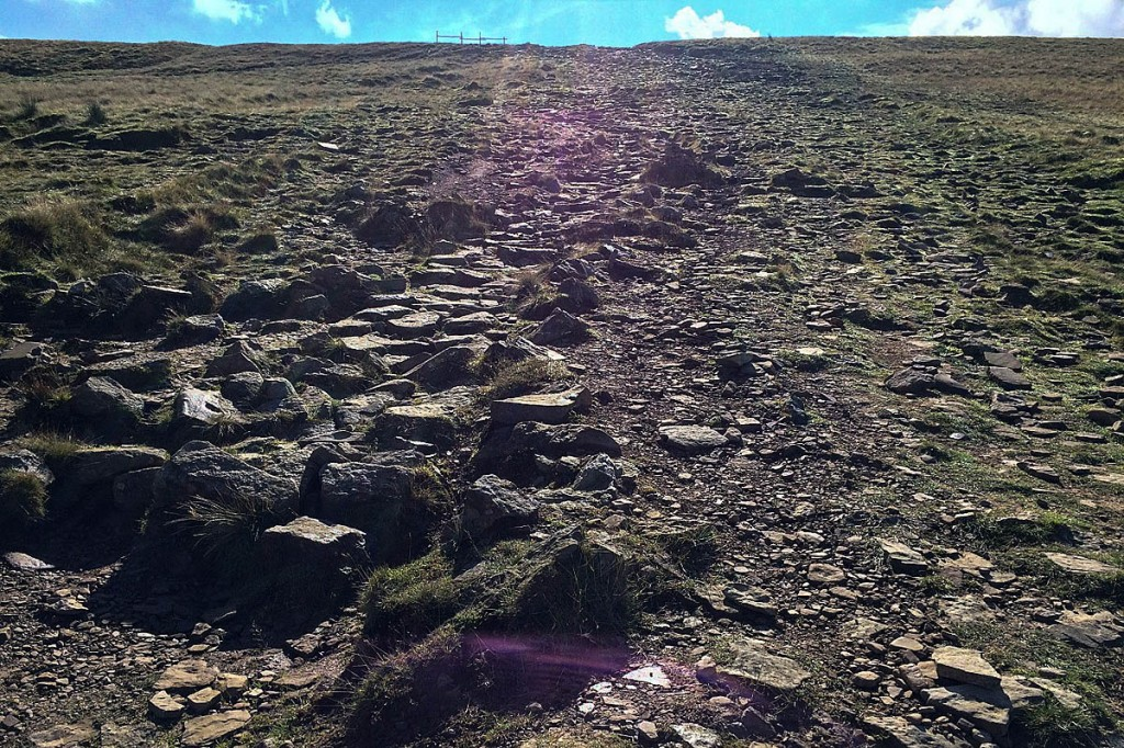 The state of the path before the work. Photo: Yorkshire Dales NPA