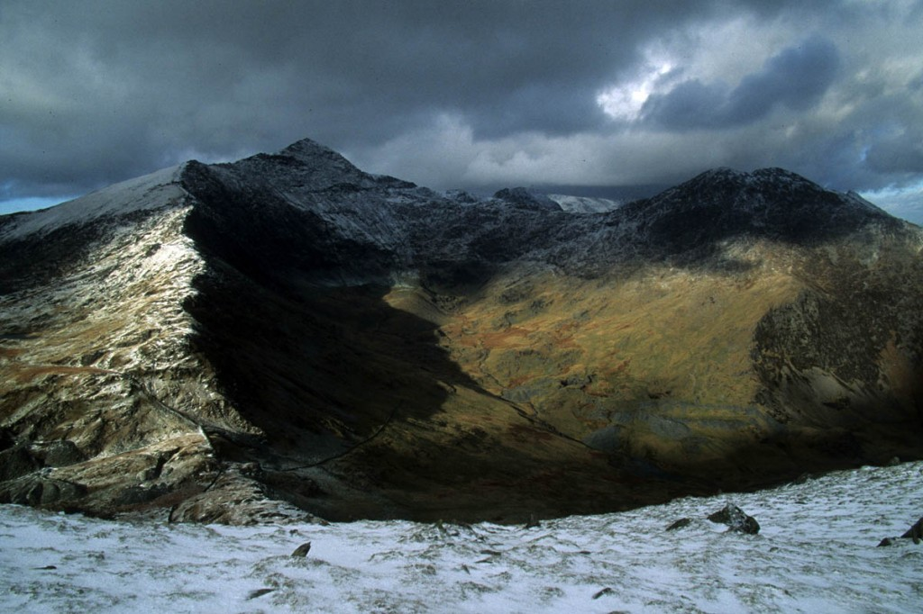 Yr Wyddfa, Snowdon, remote but don't expect solitude. Photo: Myrddyn Phillips