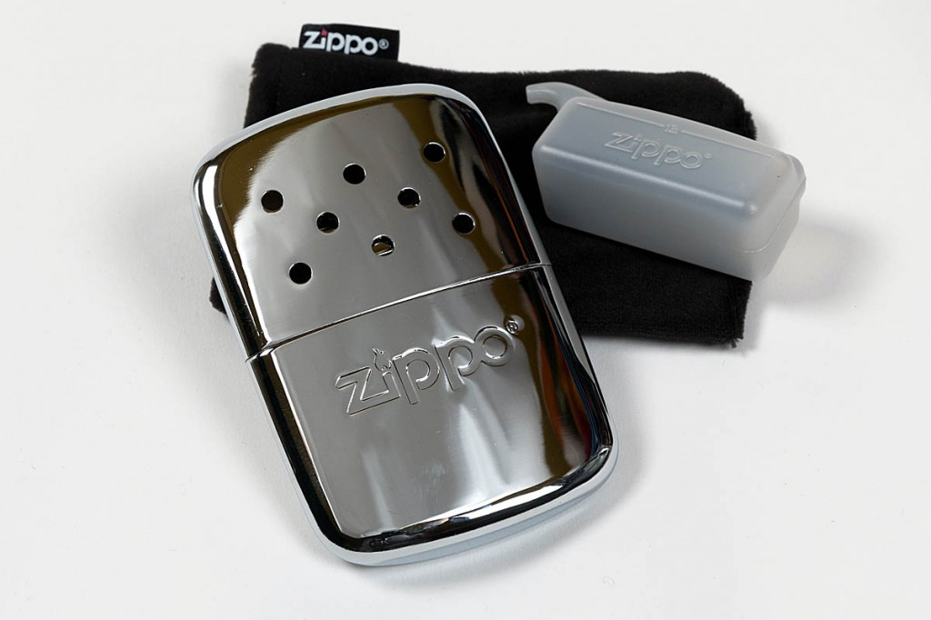 Zippo 12-Hour Handwarmer. Photo: Bob Smith/grough