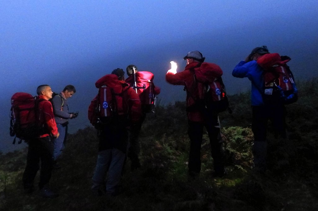 The Aberdyfi team in action. Photo: Aberdyfi SRT