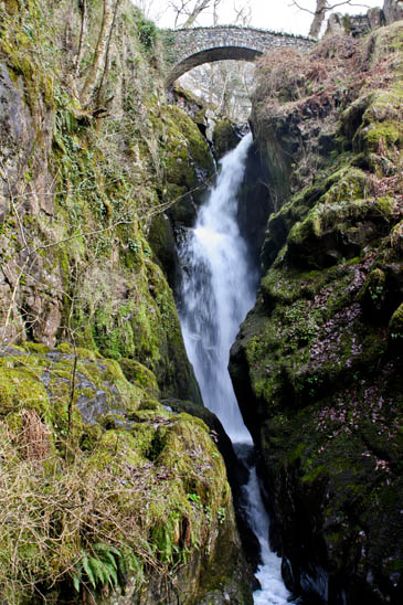 The incident happened at Aira Force, overlooking Ullswater. Photo: Dominic Hargreaves CC-BY-2.0