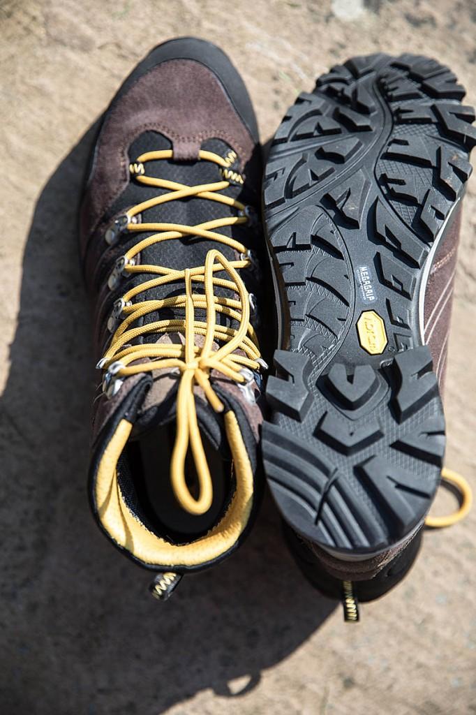 AKU Alterra GTX uppers and sole. Photo: Bob Smith/grough