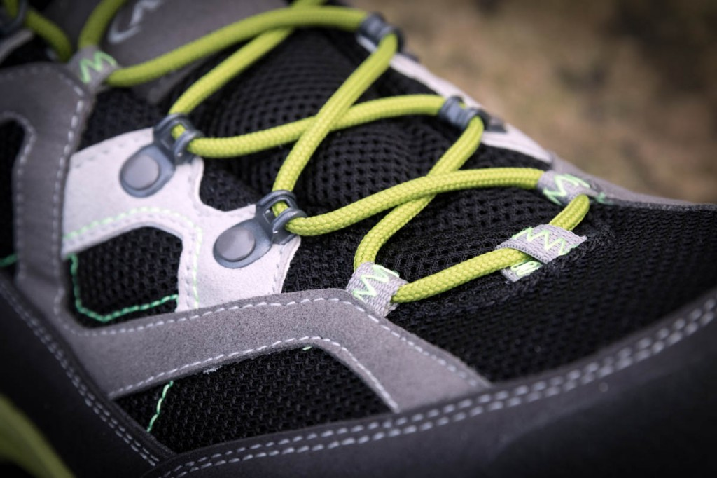 Comfort and grip put the AKU shoe a step ahead of the rest