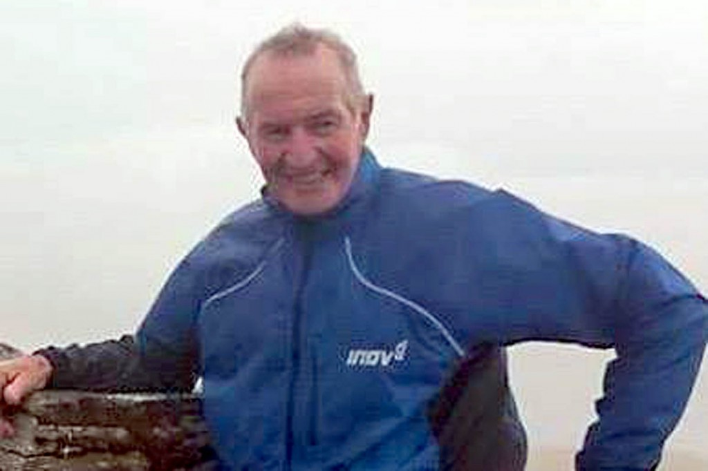 Alex Brett's body was found on Liathach