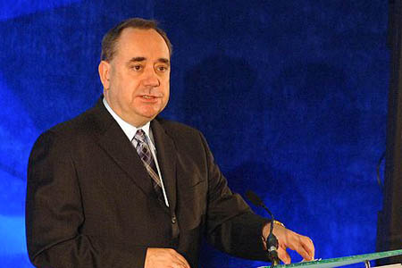 Alex Salmond heads a minority Holyrood administration. Photo: Scottish Government CC-BY-2.0
