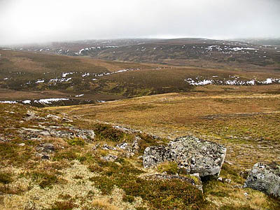 The proposed site of the Allt Duine windfarm. Photo: Richard Webb CC-BY-SA-2.0