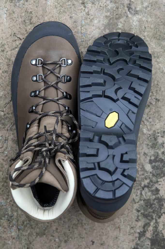 Alt-Berg Kisdon uppers and sole. Photo: Bob Smith/grough