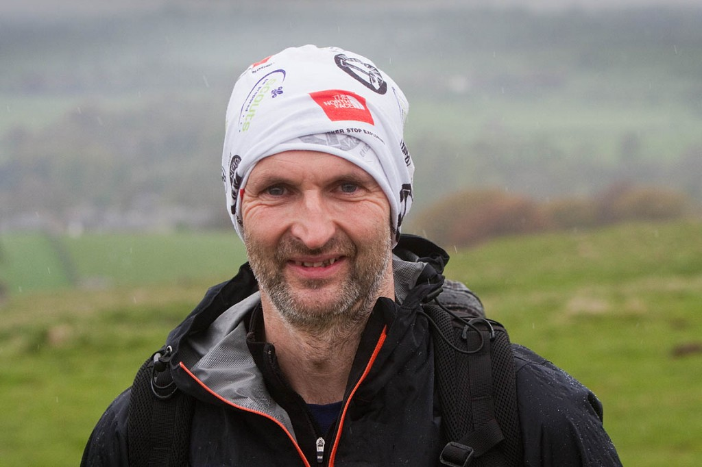 Runner and mountain rescuer Andy Jackson, who raised cash for his team