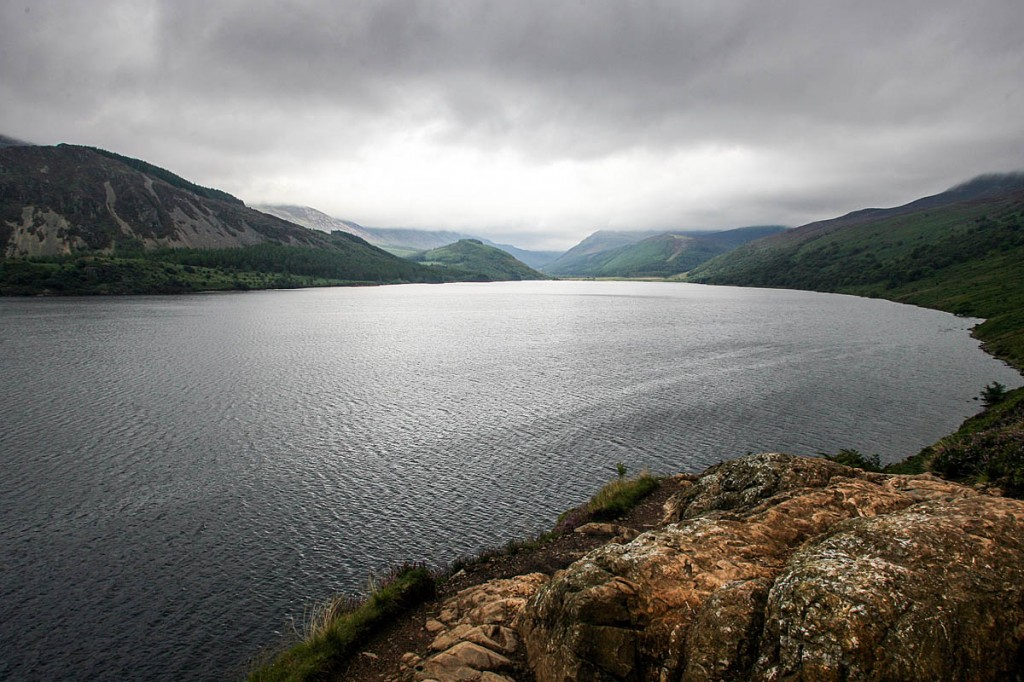 The woman fell near Angler's Crag overlooking Ennerdale Water