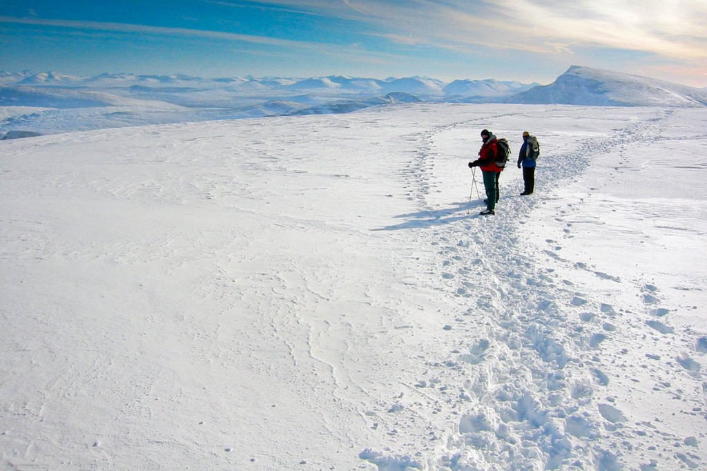 The talks will provide information for anyone heading for the Scottish mountains in winter. Photo: Bob Smith/grough