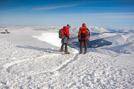 It's still winter on Scotland's mountains