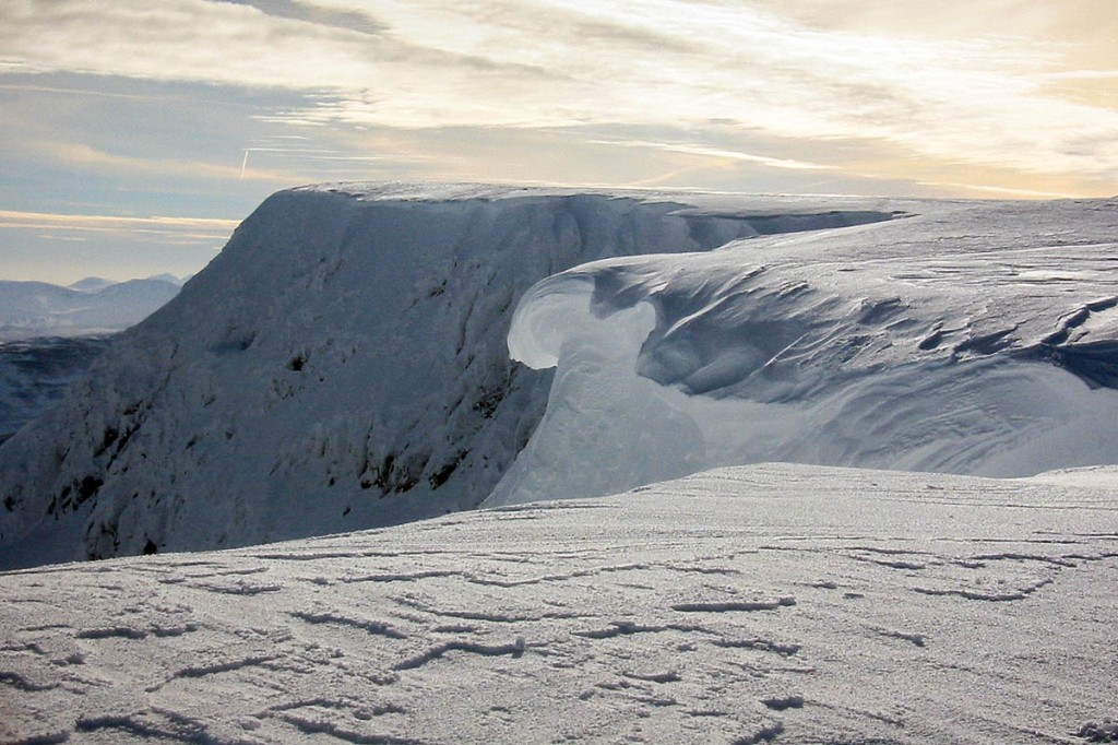 The incident happened on the east face of Aonach Mòr
