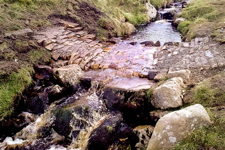 The ford in Arkleside Gill. Photo: Yorkshire Dales National Park Authority