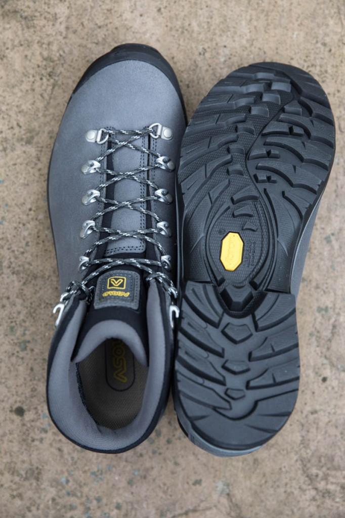 Asolo Thyrus GV uppers and sole. Photo: Bob Smith/grough