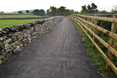 The new bridleway. Photo: Yorkshire Dales National Park Authority