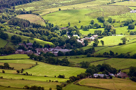 The English countryside, at risk according to the National Trust