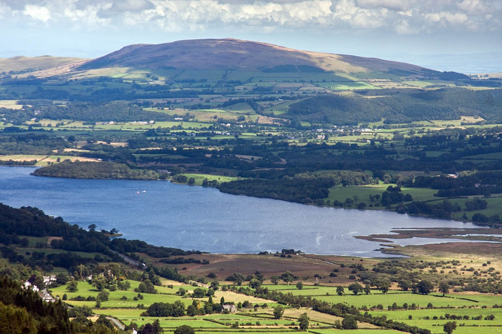 The two men went for a night-time trip on Bassenthwaite Lake