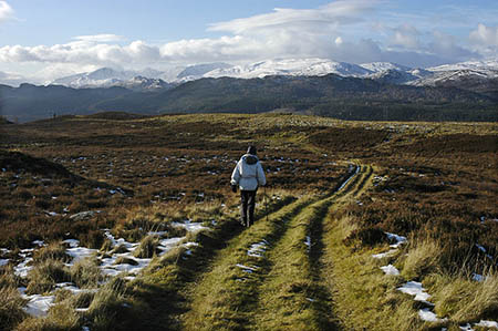 The slopes of Beinn Mhòr, looking towards the hills of Affric. Photo: Tom Richardson CC-BY-SA-2.0