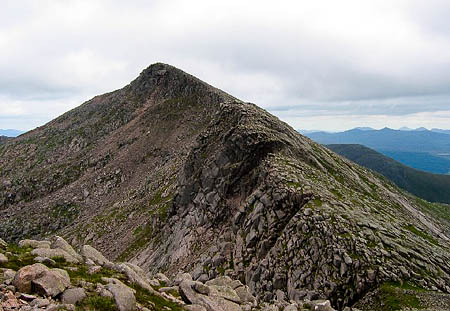 Ben Cruachan, where the man's body was discovered. Photo: Richard Webb CC-BY-SA-2.0