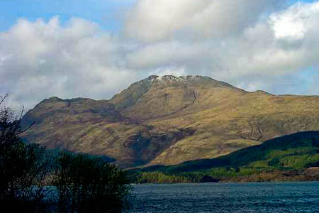 Ben Lomond, scene of the rescue. Photo: Pete Chapman CC-BY-SA-2.0