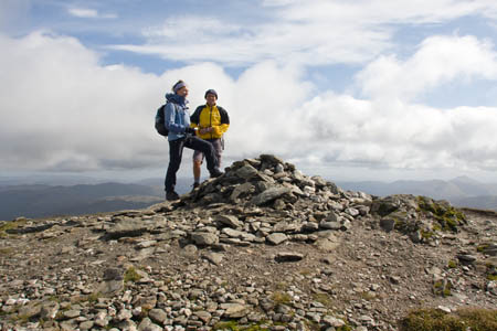 Ben More's summit cairn