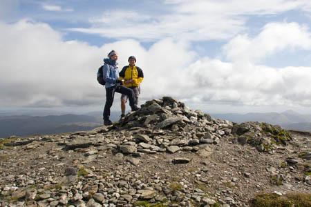 Ben More's summit cairn