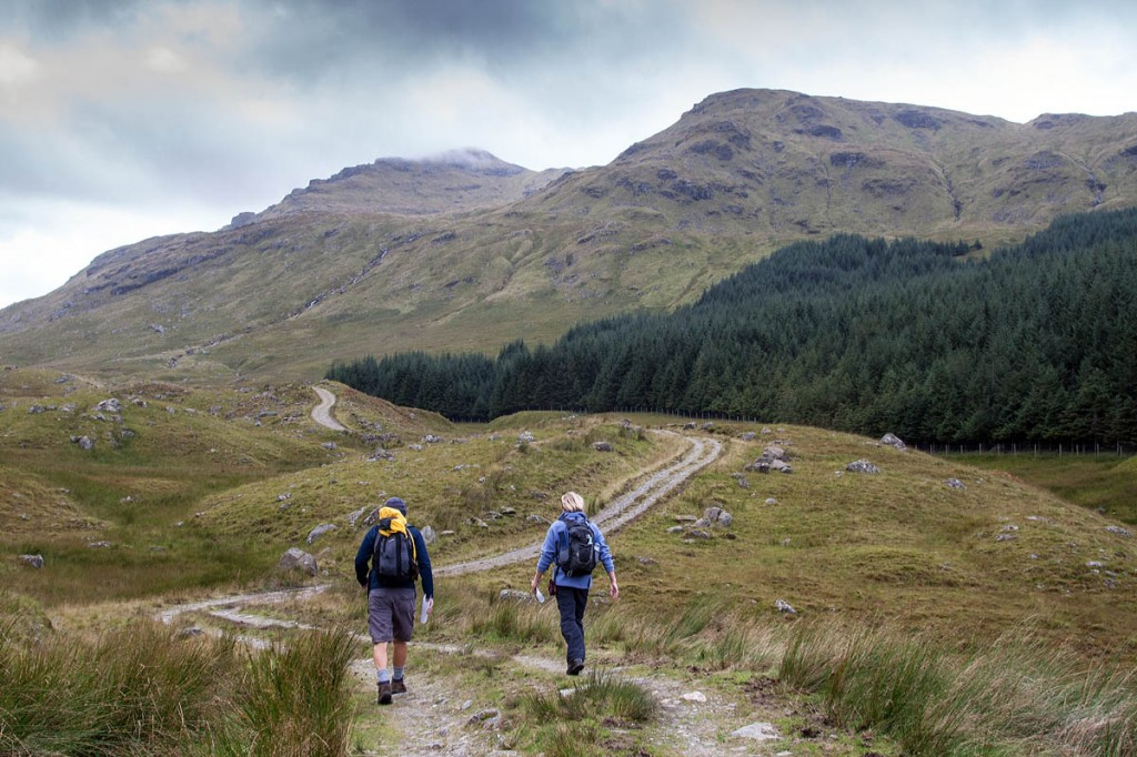 Many Scottish residents will still not have access to the hills. Photo: Bob Smith/grough