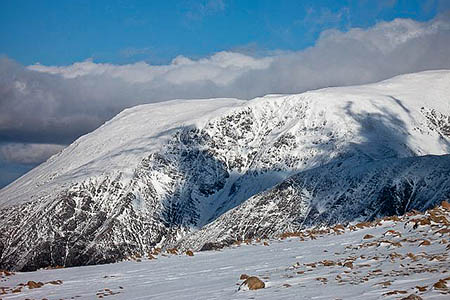 Five Finger Gully on Ben Nevis. Photo: Richard Webb CC-BY-SA-2.0