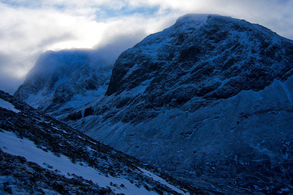 The woman was climbing on Càrn Dearg. Photo: Graham Lewis CC-BY-2.0