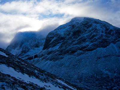 The man died after falling on Ben Nevis's North Face. Photo: Graham Lewis CC-BY-2.0