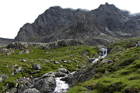 The man fell near the Douglas Boulder on Ben Nevis's North Face. Photo: Gareth James CC-BY-SA-2.0