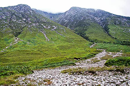The body was found in Coire Lotha on Ben Starav. Photo: wrobison CC-BY-SA-2.0