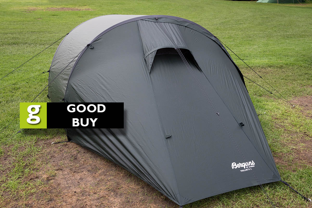 The Bergans of Norway Trollhetta 2. Photo Bob Smith/grough & grough u2014 On test: lightweight tents reviewed