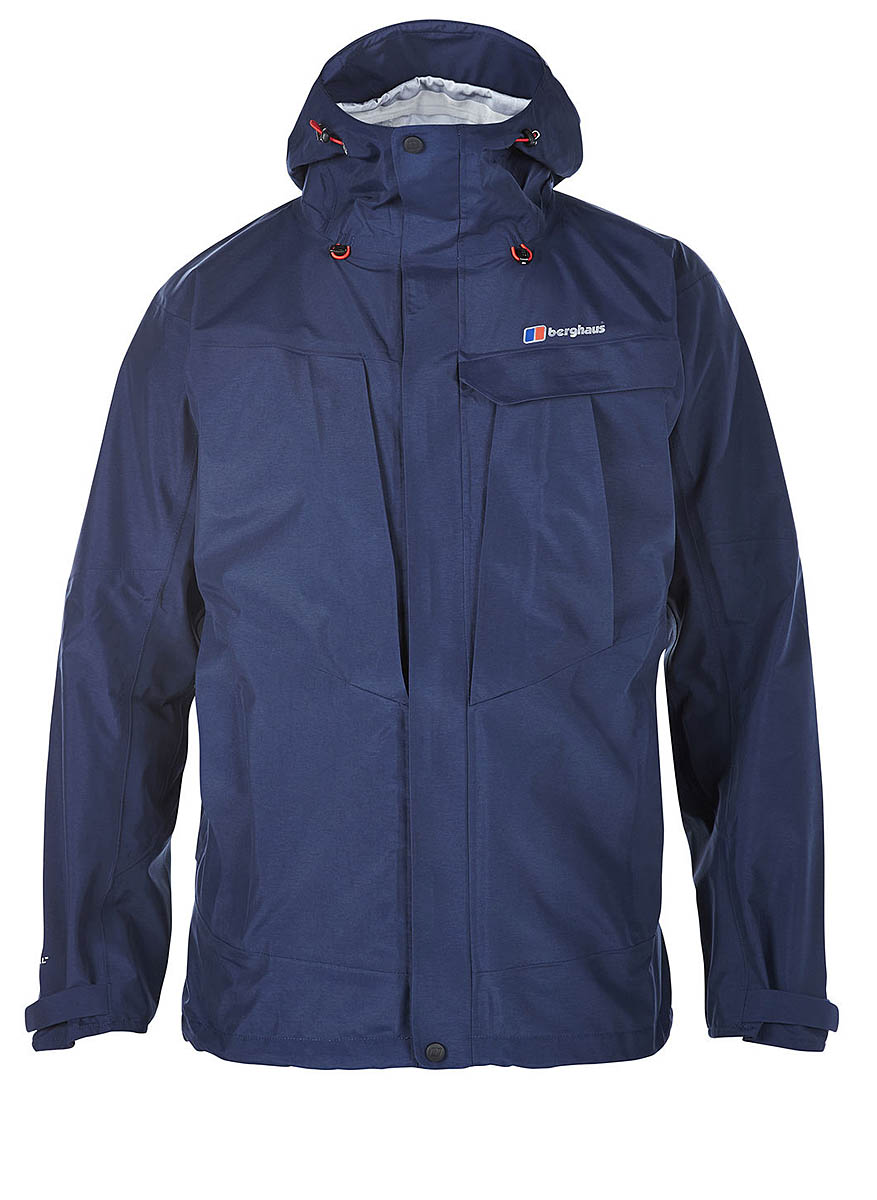 0c6d564bef4 Berghaus High Trails Jacket Colour  dark blue. Weight  614g. Price  £220.  Material  shell