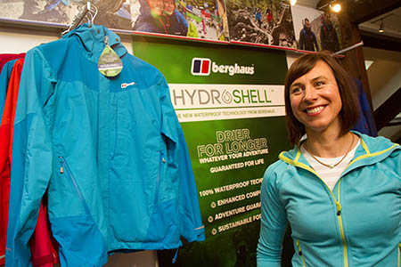 Berghaus will launch its Hydroshell clothing next year