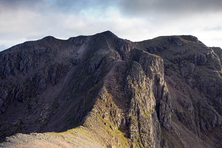 Bidean nam Bian, centre, with Stob Coire nam Beith, right