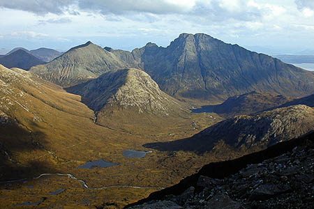 Oliver Smith's body was found in the Blàbheinn area on Skye. Photo: Nigel Brown CC-BY-SA-2.0
