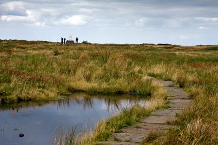 Black Hill, no longer a mass of black peat