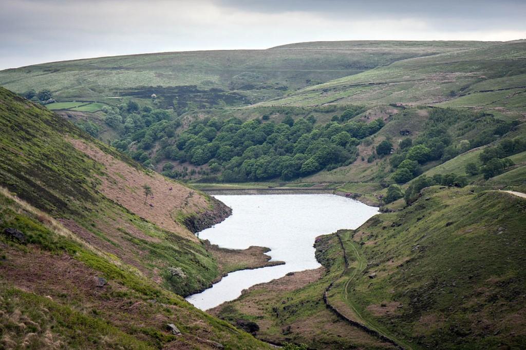 The incident happened near Blakeley Reservoir. Photo: Bob Smith/grough