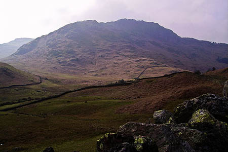 Mr Lancaster's body was found at the foot of a crag on Blake Rigg. Photo: Michael Graham CC-BY-SA-2.0