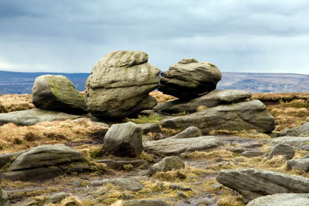 Romantic: the Wain Stones