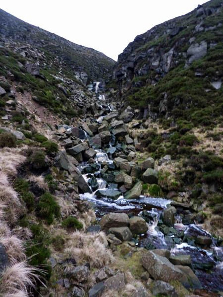 Wildboar Clough, Bleaklow. Photo: Glossop MRT