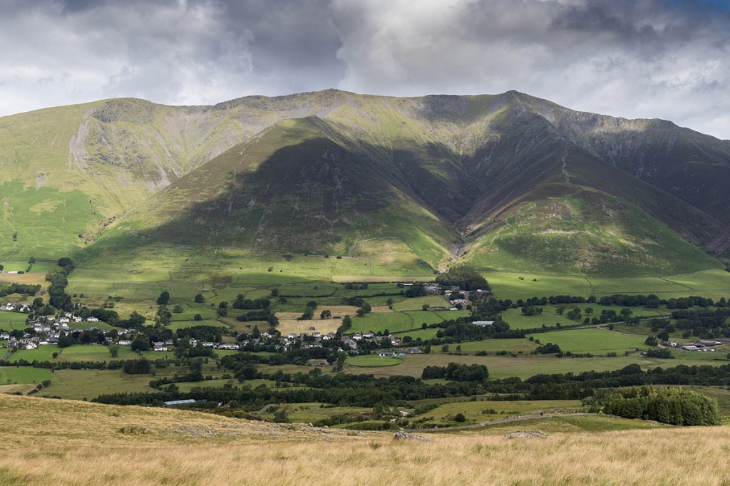Blencathra was chosen because it was 'topical'. Photo: Bob Smith/grough