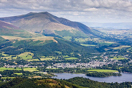 Walkers will make the trip to Blencathra from Keswick