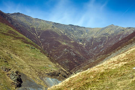 The runner fell on the scree above Gate Gill