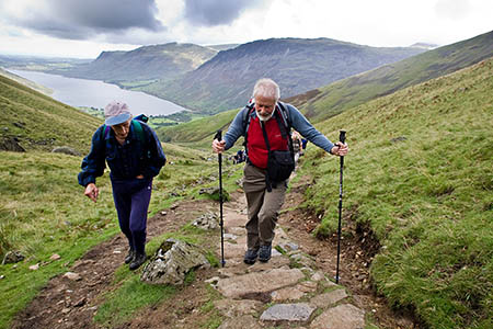 Sir Chris takes to the Lakeland fells with another outdoors luminary, fellrunner Joss Naylor