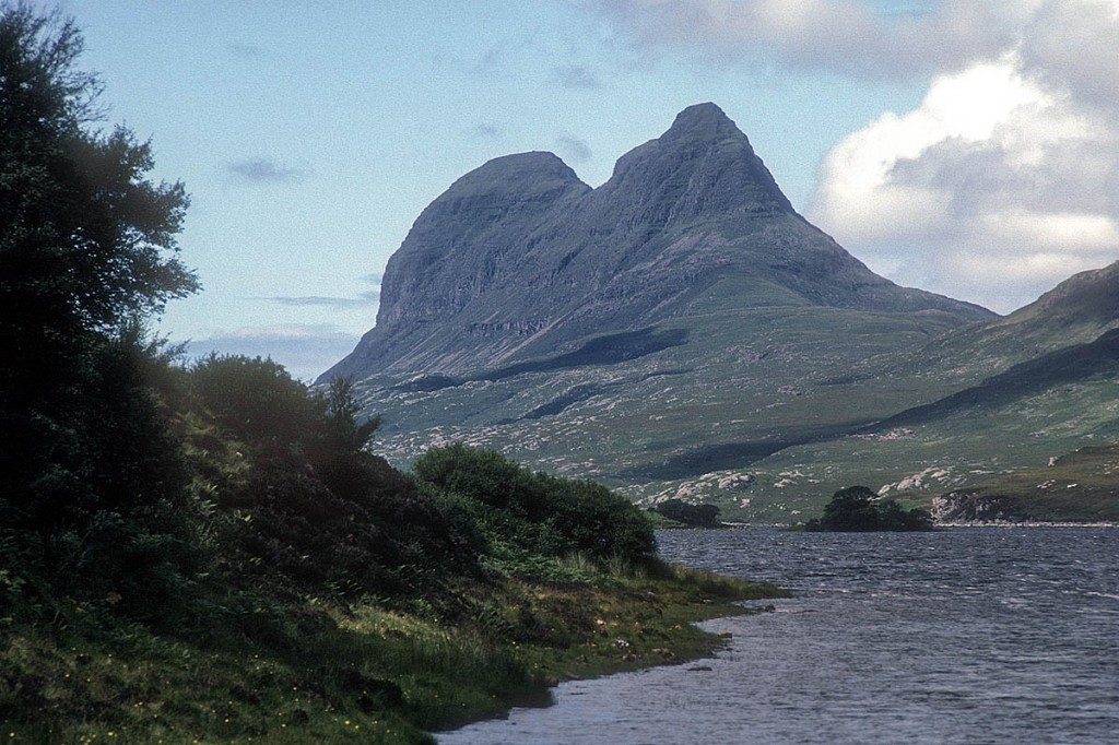 Suilven and Cam Loch. Photo: Chris Bonington Picture Library