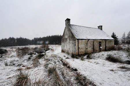 Back Hill o' the Bush bothy. Photo: APJarrott/Forestry Commission Scotland
